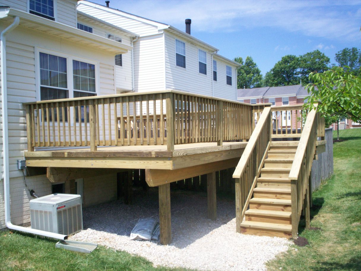 Md Deck Contractors Columbia Ellicott City Amp Annapolis